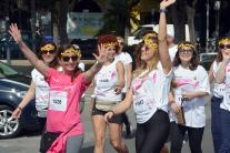 Bari, il serpentone rosa della Race for the cure