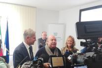 Targa Confindustria a Lino Banfi, nuovo imprenditore agroalimentare