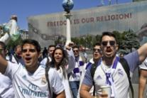 Ucraina: Kiev, tifosi del Real Madrid