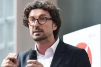 M5s, Danilo Toninelli parla all''Open day Rousseau' a Ivrea