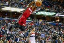 Il match Nba tra Washington Wizards e Miami Heat
