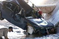 I danni causati da piogge torrenziali a Sinaloa, in Messico