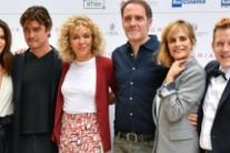 Il cast del film 'Euforia' all'incontro stampa a Roma