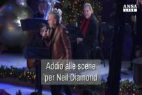 Addio alle scene per Neil Diamond