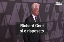 Richard Gere si e' risposato