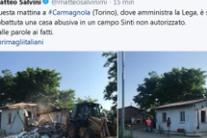 Salvini hails demolition of illegal home in Sinti camp (3)