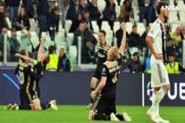 Champions, la Juventus eliminata dall'Ajax