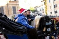 Rome's botticelle horse-drawn carriages to move to parks