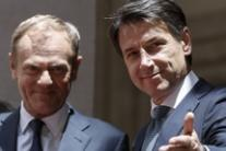 Italy can't take on all migrants, Conte tells Tusk (4)