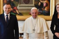 Pope sees Polish president on JP II anniversary
