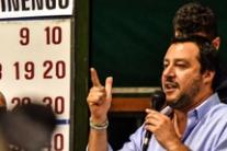Angry Salvini gives no comment on impeachment talk