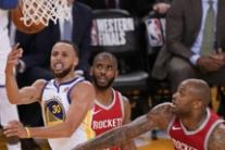 Nba: il match tra Golden State Warriors e Houston Rockets