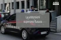 Le estorsioni superano l'usura