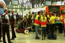 Incidente treno a Barcellona