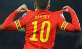 Euro 2020:Ramsey-gol qualifica il Galles