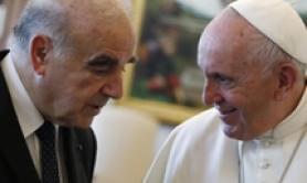 Papa Francesco incontra presidente maltese George Vella