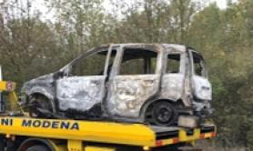 Charred body found in car in Modena