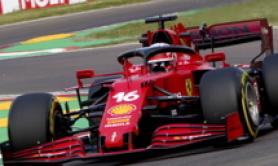 Imola: incidente Ferrari Leclerc, stop alle libere in anticipo