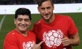 Maradona first to call after I retired says Totti