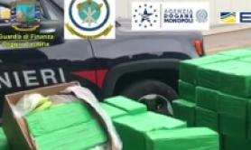 Tonne of cocaine seized at Gioia Tauro port