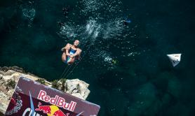 Red Bull Cliff diving, tutta Polignano con il naso all'insù