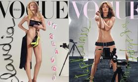 Claudia e Stephanie in copertina su Vogue