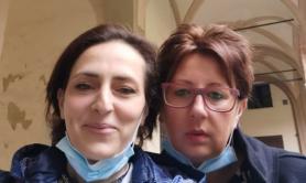 Francesca Mangiatordi e  Elena Pagliarini