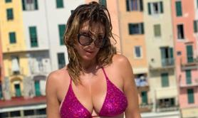 Sabrina Salerno in bikini su Instagram