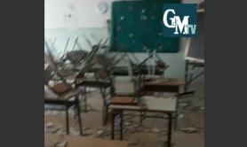 Palagiano, crolla solaio a scuola, famiglie preoccupate: «Tragedia sfiorata»