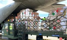 Brindisi, partito volo umanitario per Beirut dalla base Unhrd