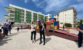 Bitetto, «Periferie Aperte»: inaugurata «wonderland» in area urbana riqualificata