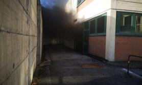 Potenza, cortocircuito in laboratorio università causa incendio: danni