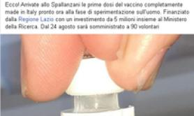 Human trial of Italian COVID vaccine to start Aug 24