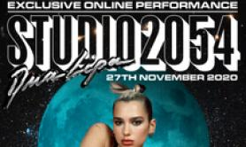 Dua Lipa Star dance pop con live event Studio 2054