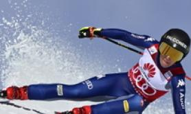 Skiing: Goggia wins 3rd straight downhill