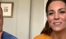 Will e Kate parlano in video con bimbi