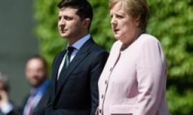 Angela Merkel colta da tremore