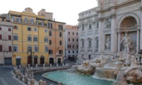 Charity's Trevi Fountain coin 'trove' over due to virus