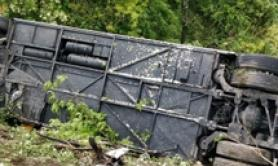 Woman dead after coach overturns near Siena