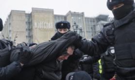 Ong: 174 manifestanti pro-Navalny fermati in 20 città