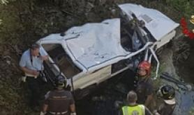 Auto in torrente, due morti a Pistoia