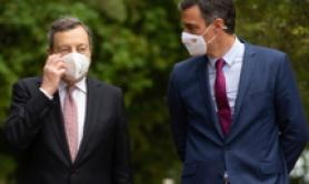Italy, Spain stronger together Draghi tells Sanchez