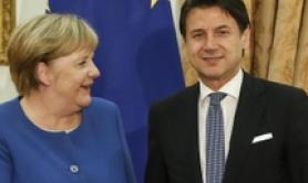 Coop on Libya but ensure human rights, Merkel tells Conte