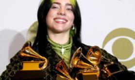 Grammy, cinque premi per Billie Eilish