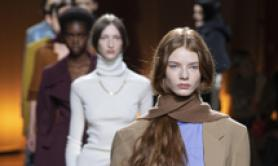 Modelle in passerella per Tod's al Milan Fashion Week