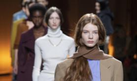 Modelle in passerella per Tod's al Milan Fashion Week