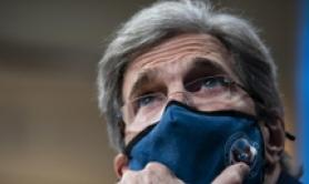 Emissions must be cut this decade, Kerry tells Cingolani