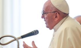 God calls us to be peace operators tweets pope