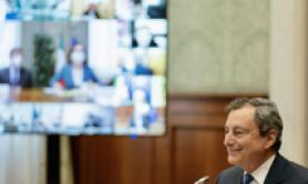 80% of population to be vaccinated by autumn - Draghi