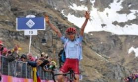 Giro: Zakarin wins 13th stage, Polanc keeps pink jerse